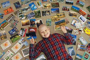 Folks around the world send greetings to Lockwood teen with cancer