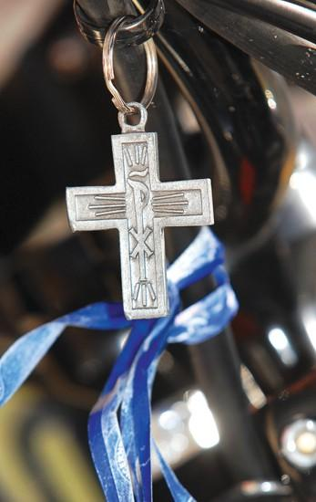 St. V. chaplain has a soft spot for those who suffer
