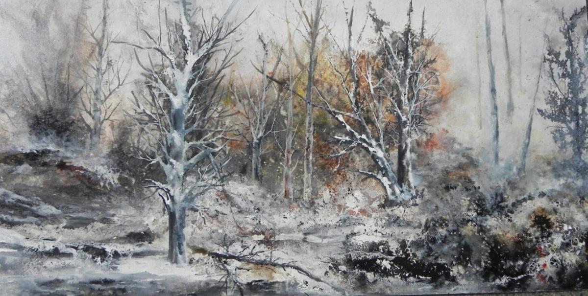 'Winter Scene' by Karen McBride