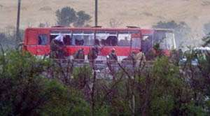 Commandos storm hijacked bus in southern Russia, kill one Chechen gunman