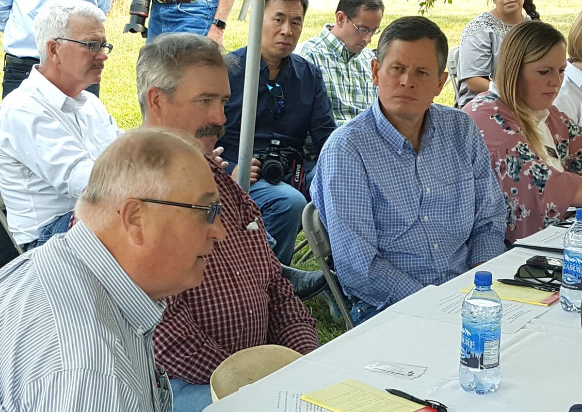 Rancher Fred Wacker and Sen. Steve Daines