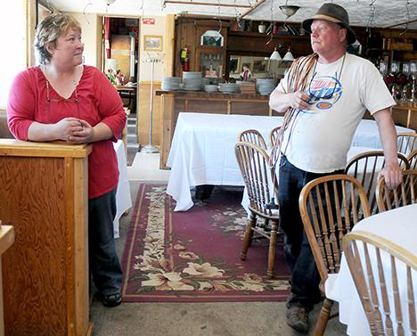 Vickie And Vernon Scott Owners Of The 100 Year Old Virginian Hotel