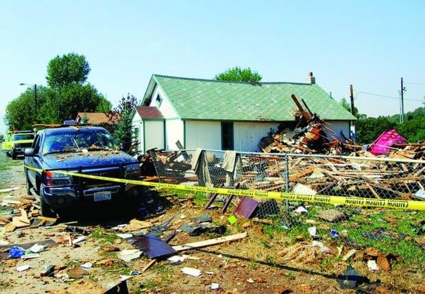 Harrison house explosion