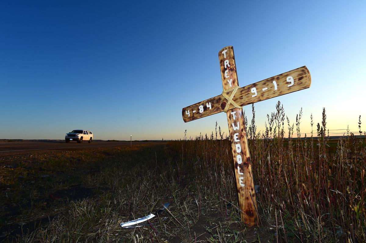 Highway 212 crash scene