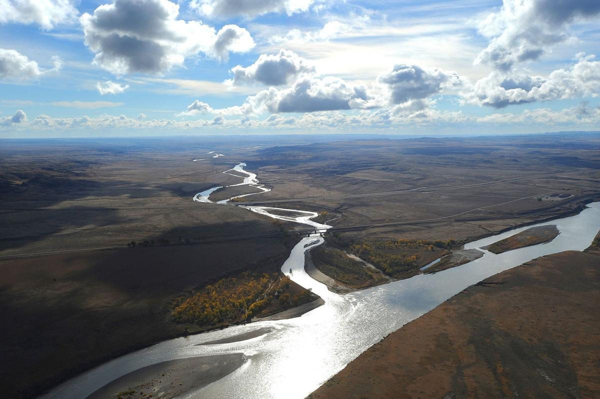 Confluence of Powder and Yellowstone Rivers