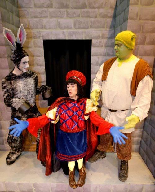 Hrubes, Hash, Trott in 'Shrek: The Musical'