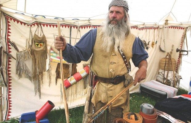 Buckskin Clad Mountain Men Gather For Rendezvous At