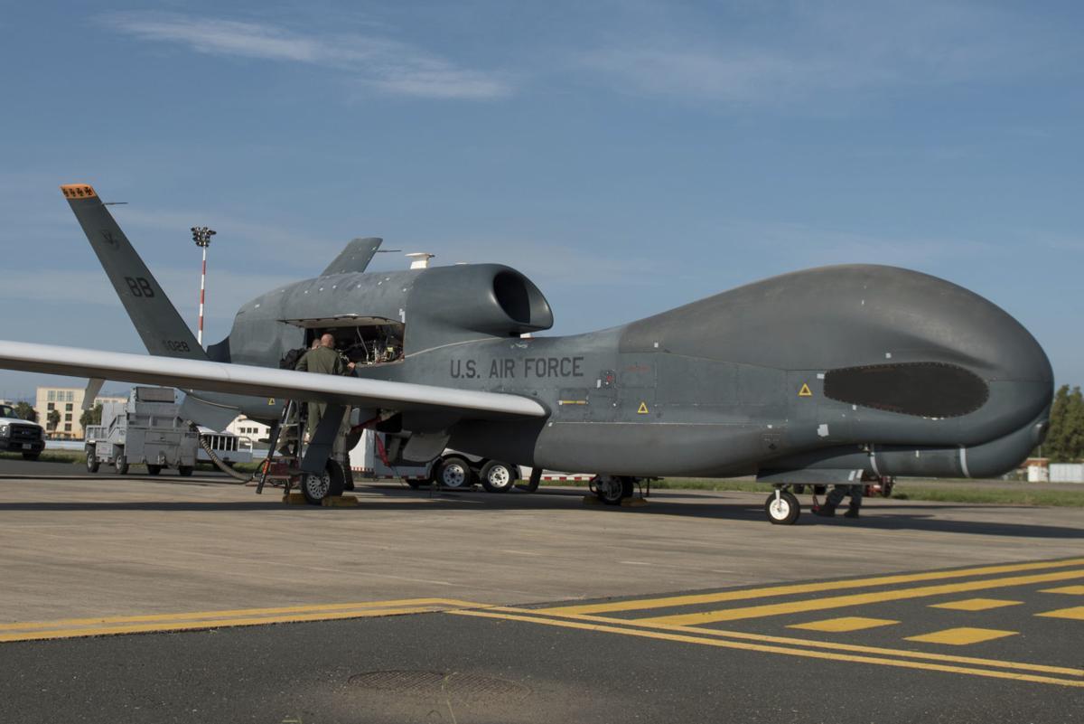RQ-4 Global Hawk - type shot down by Iran
