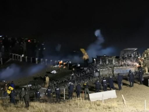 Pipeline protester seriously injured; conflicting accounts