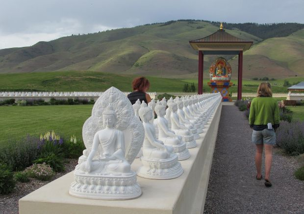 Hitting the road garden of one thousand buddhas community Garden of one thousand buddhas