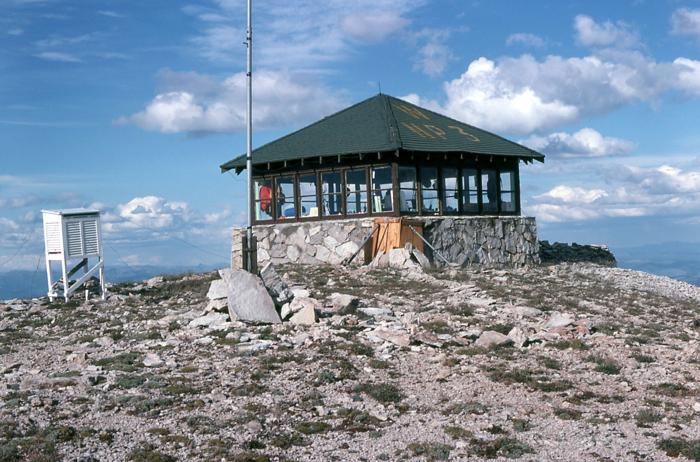 Lightning torched Yellowstone fire lookout