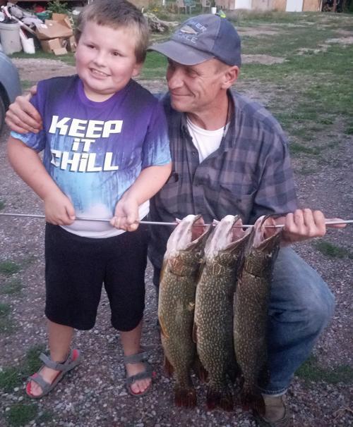 Pike catch