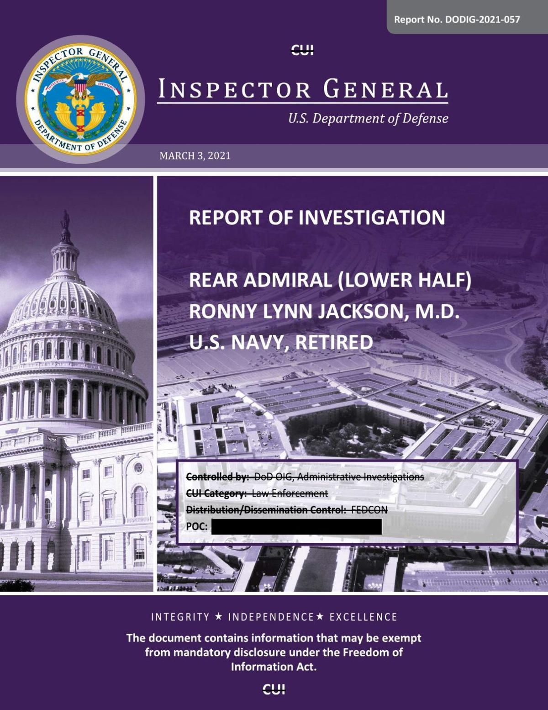 DOD IG Jackson Report