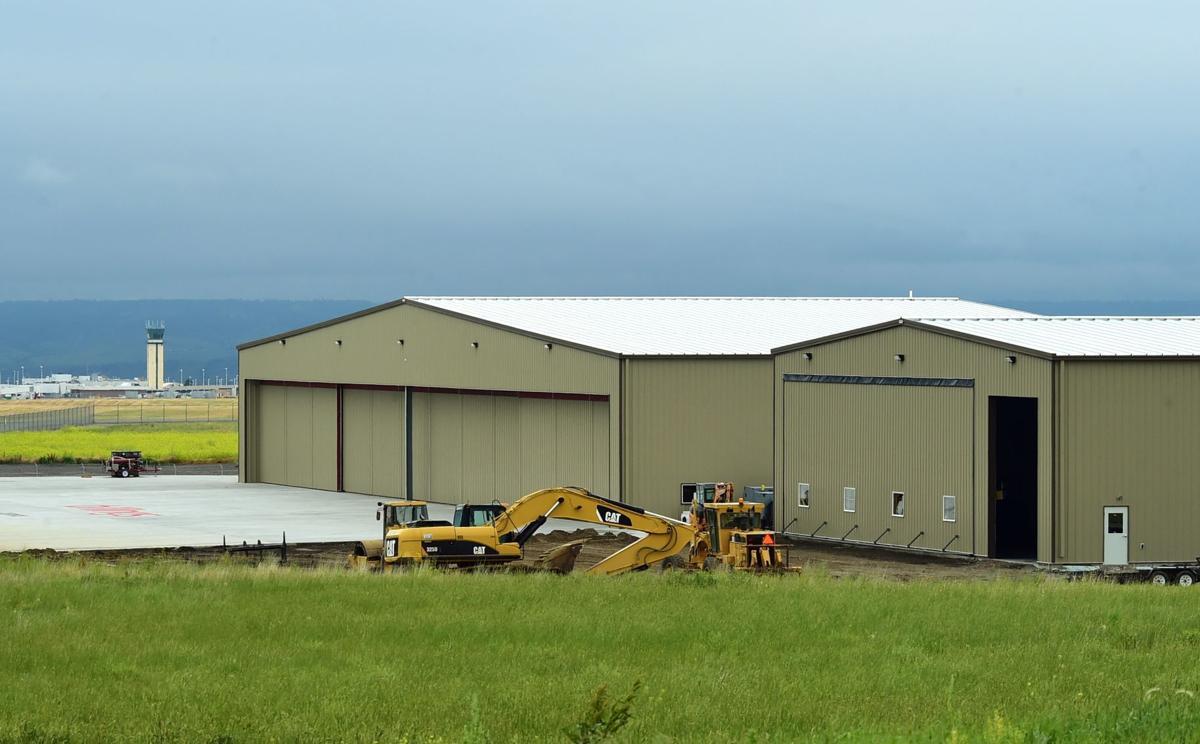 Billings Flying Service new hangar
