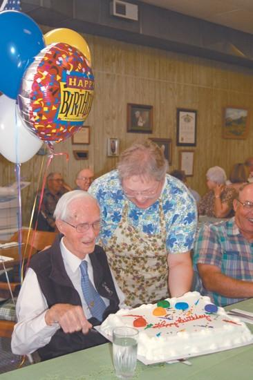 105-year-old always looks to tomorrow