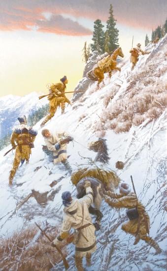 Detailed paintings brings Lewis & Clark adventure to life