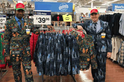 Walmart Has Ugly Christmas Suits And Ties For All Your Holiday Party