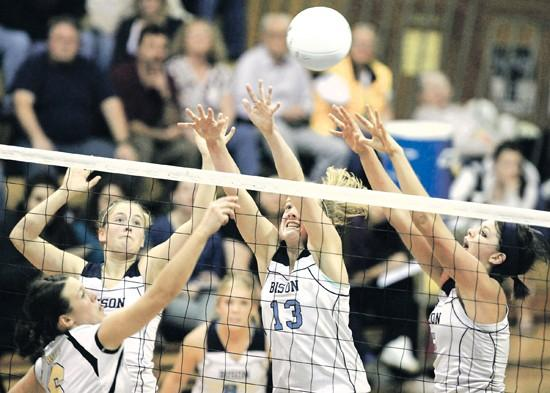 West holds off Bison in 4 games