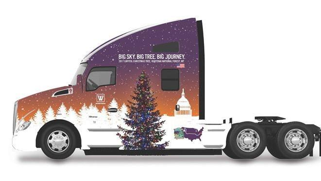 Billings truck company tapped to haul national Christmas tree from Montana to Washington, D.C