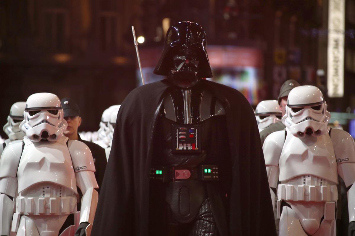 Britain Star Wars The Force Awakens Premiere
