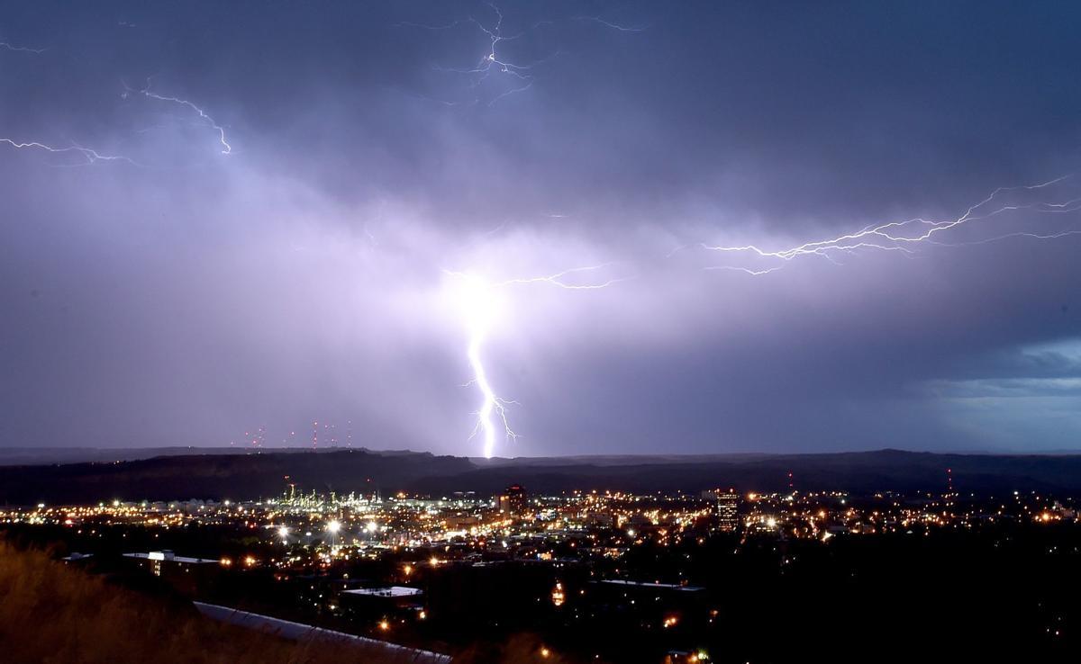 Lightning over Billings