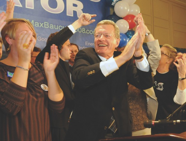 Baucus re-elected 2008