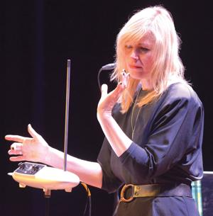 World-class theremin player visits Sheridan