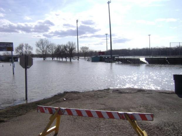Sullivan Park under water
