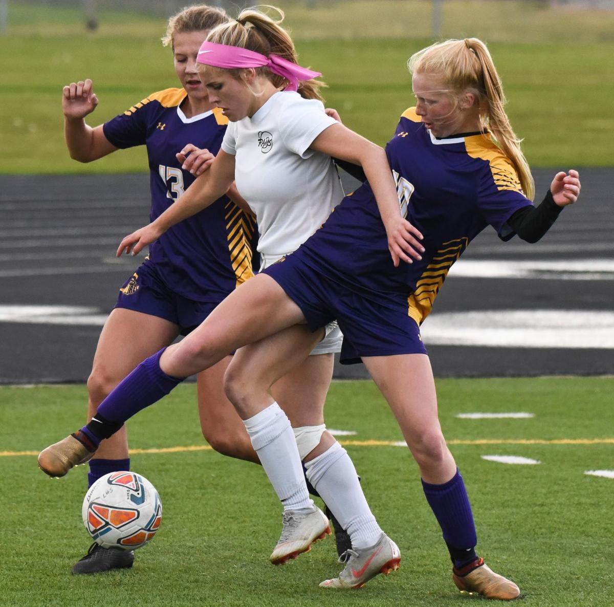 Central at Laurel girls soccer