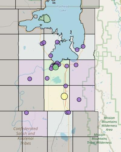 Power outages in Lake County