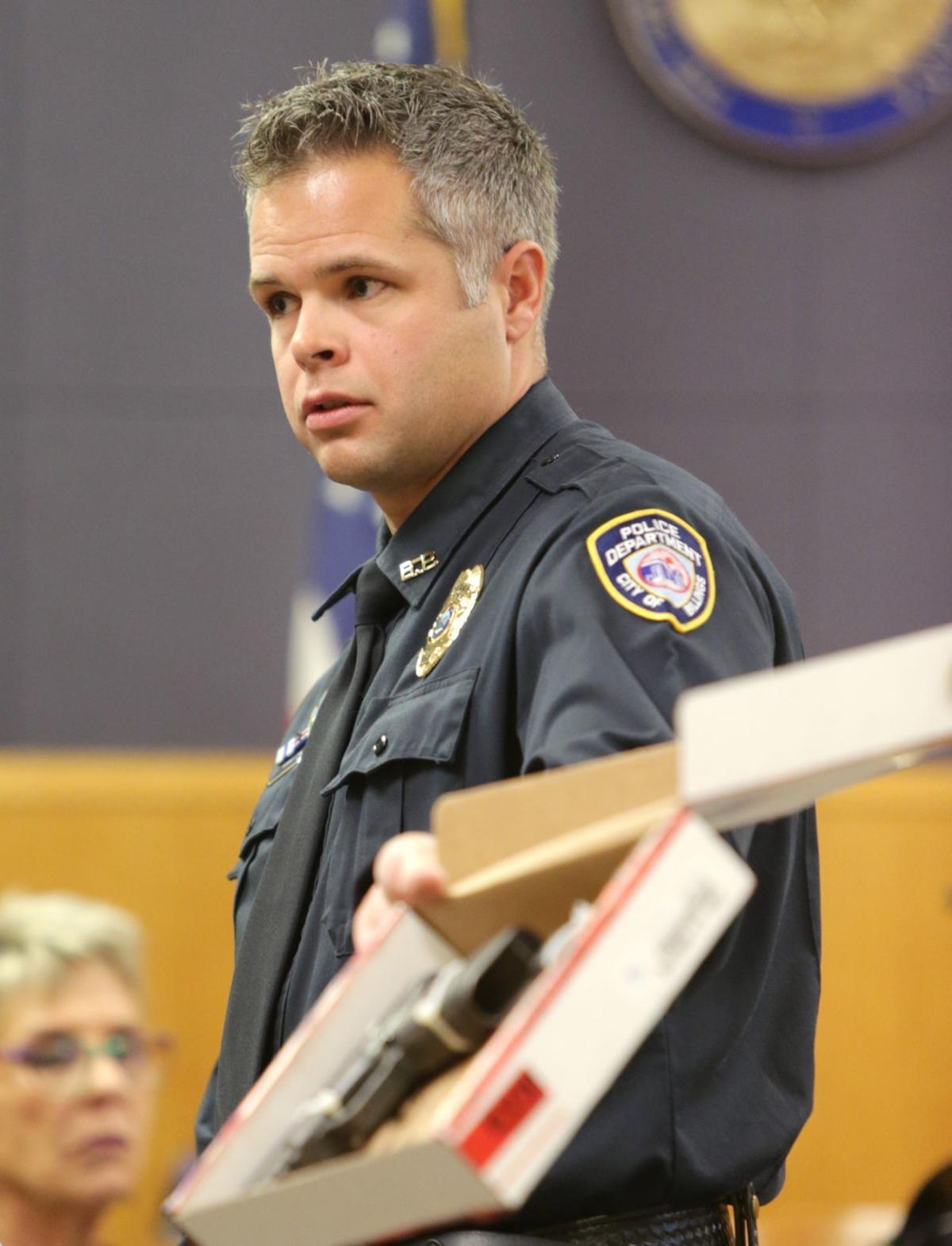 Billings Police officer David Firebaugh
