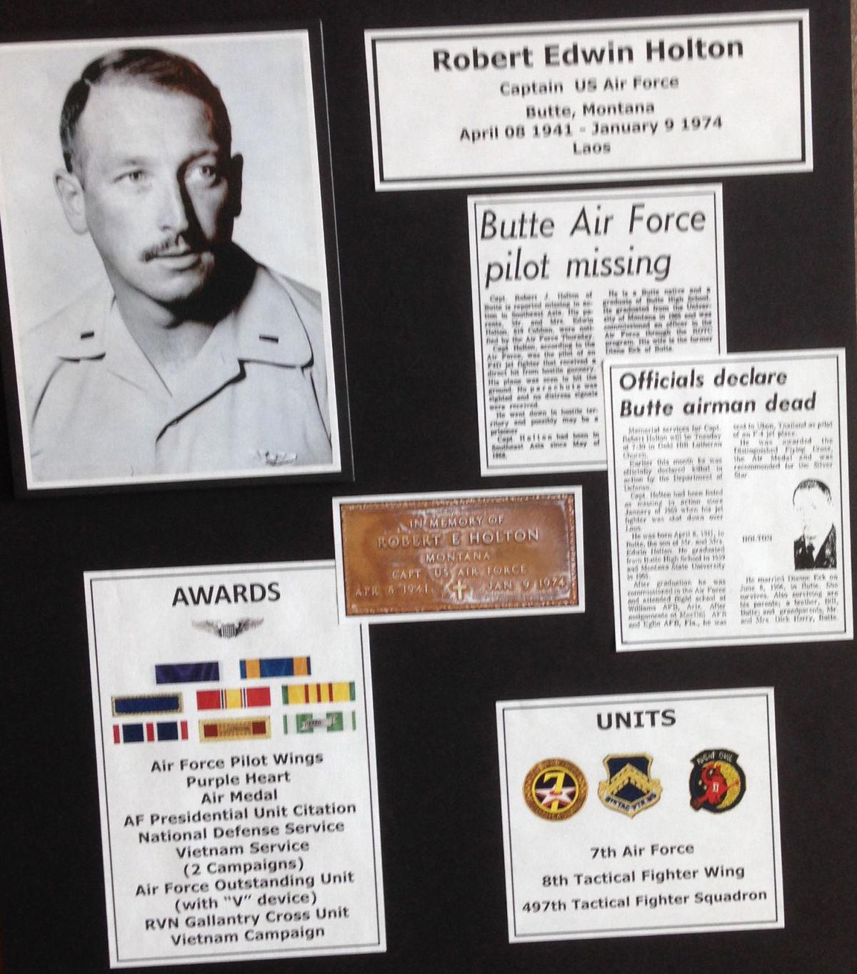 Veterans' exhibit