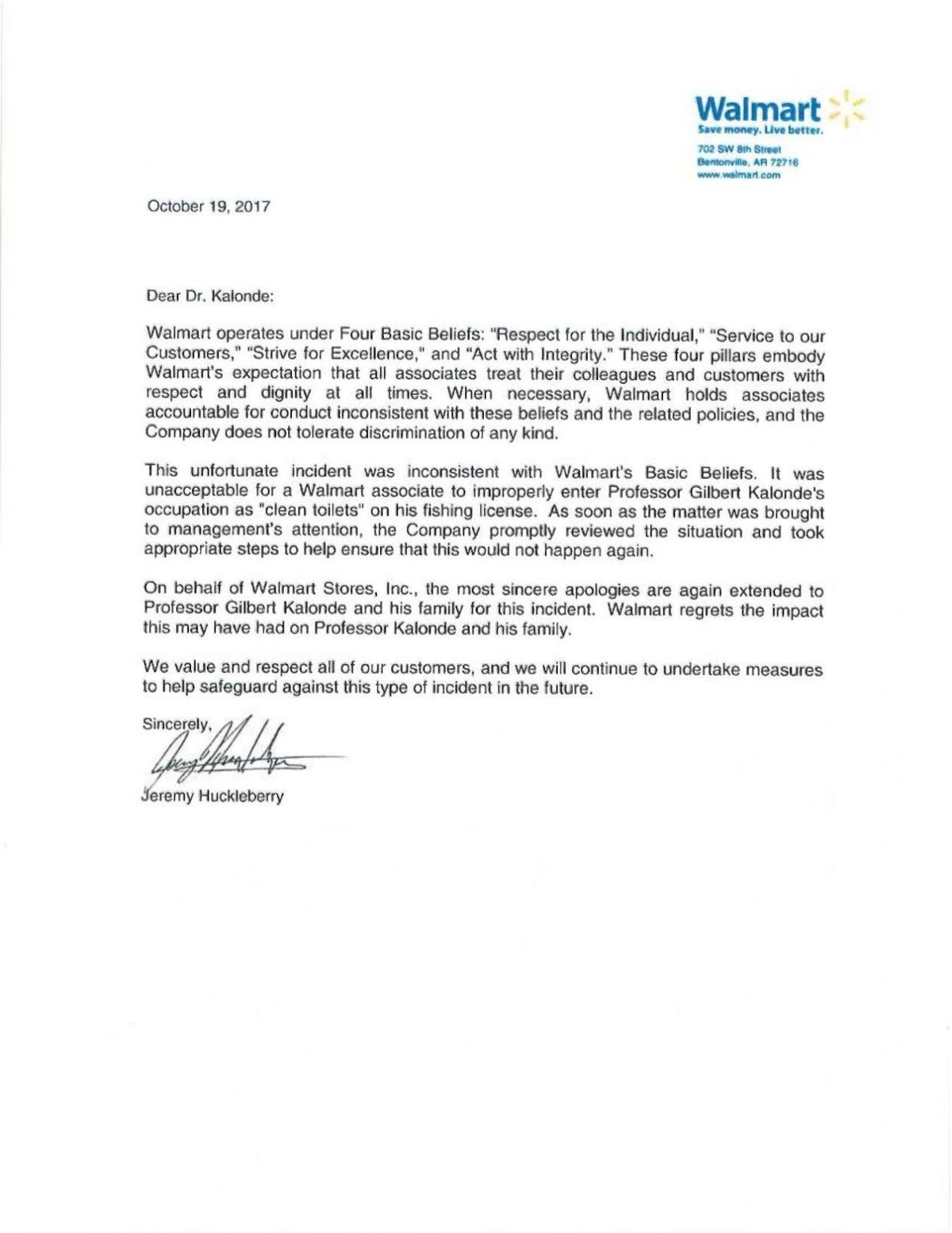 Apology letter from walmart state regional billingsgazette download pdf apology letter from walmart thecheapjerseys Images