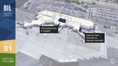 Billings Logan International Airport expansion — Phase 1
