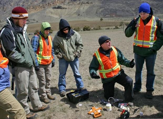 Research work in the Gardiner Basin