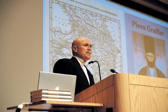 Prof criticizes Russia's 'Olympic War'