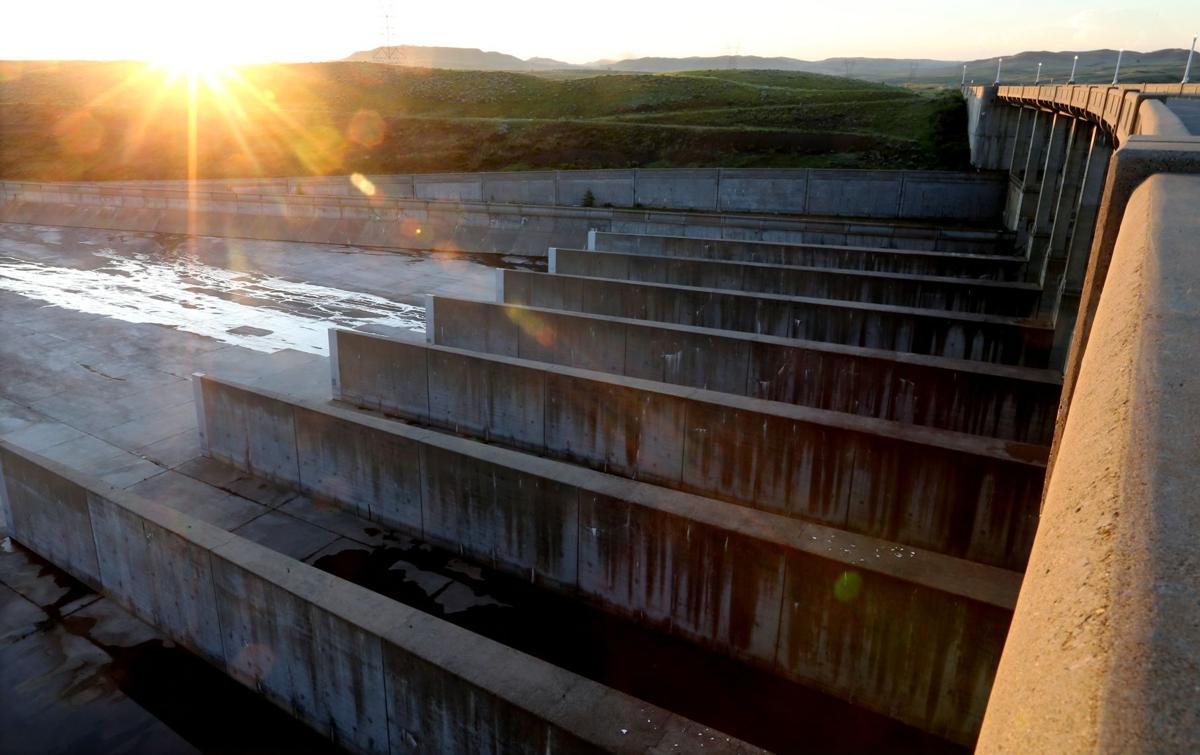 Fort Peck Dam spillway