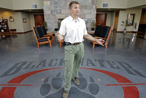 AP Source: Blackwater founder considering Wyo. Senate bid