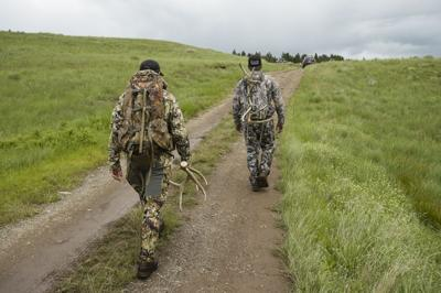 Throngs of people scoured the Blackfoot-Clearwater Wildlife Management Area