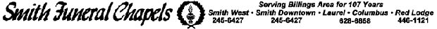 Smith Funeral Chapel Header