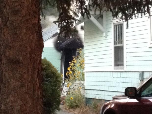 Burlington Avenue fire