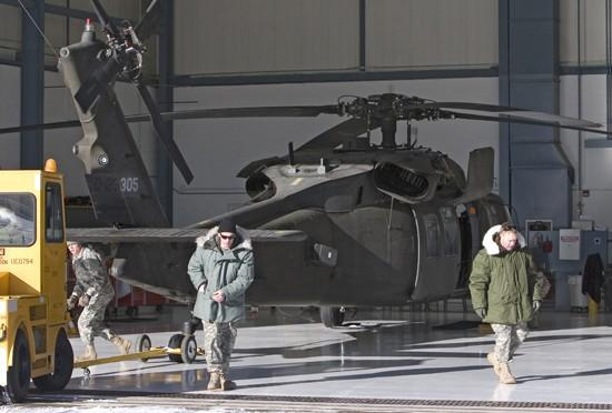 60 Guard soldiers, 8 choppers going to Iraq