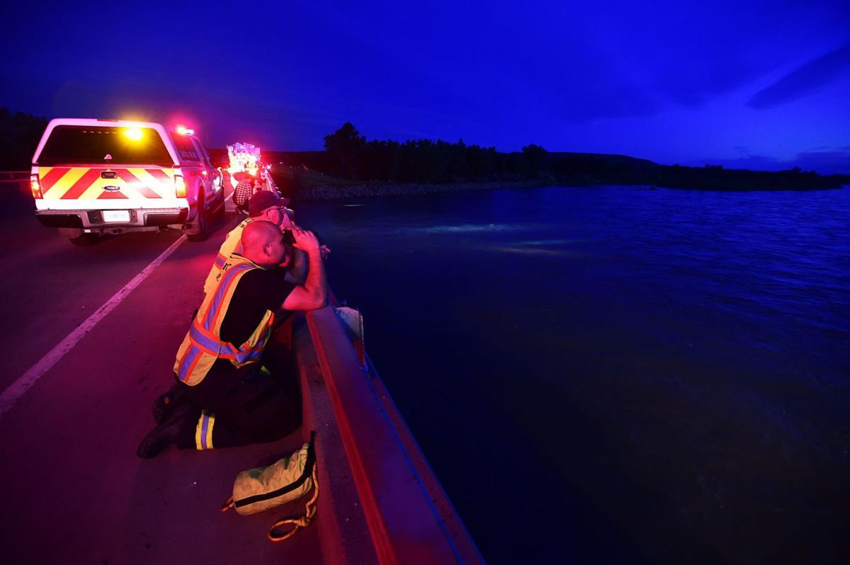 Kayaker rescue
