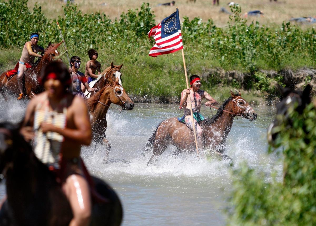 Custer Reenactment