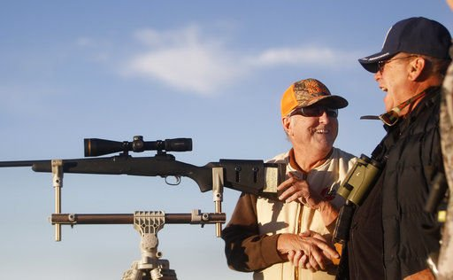 Weekend hunting brings disabled veterans together