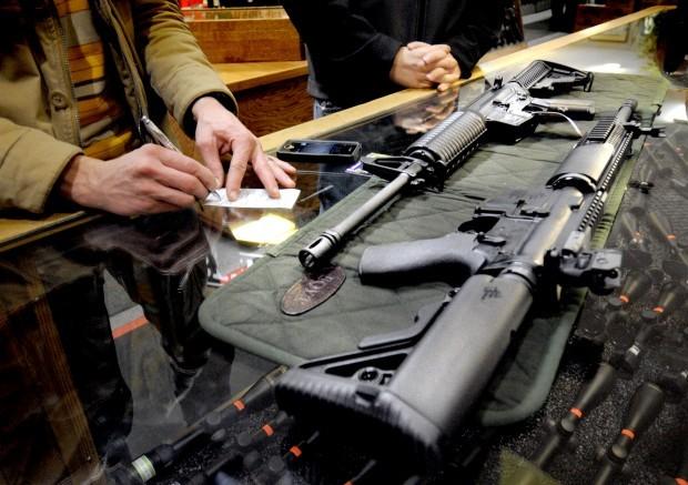 Gun buyers
