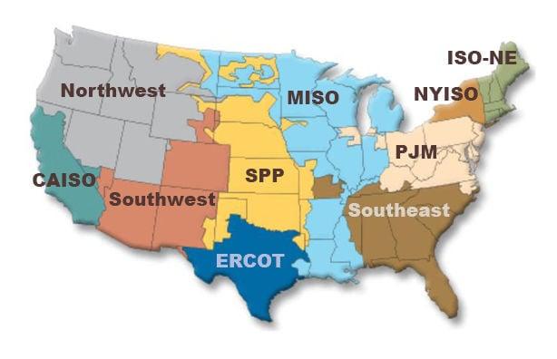 U.S. power grid