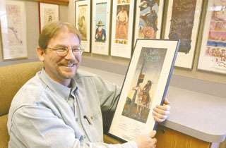 Collections boast colorful bits of past