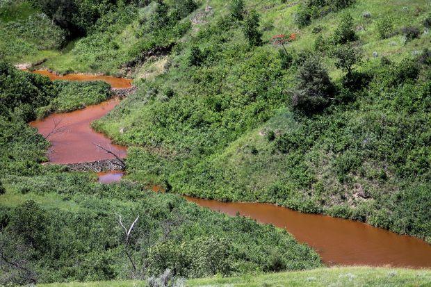Saltwater spill