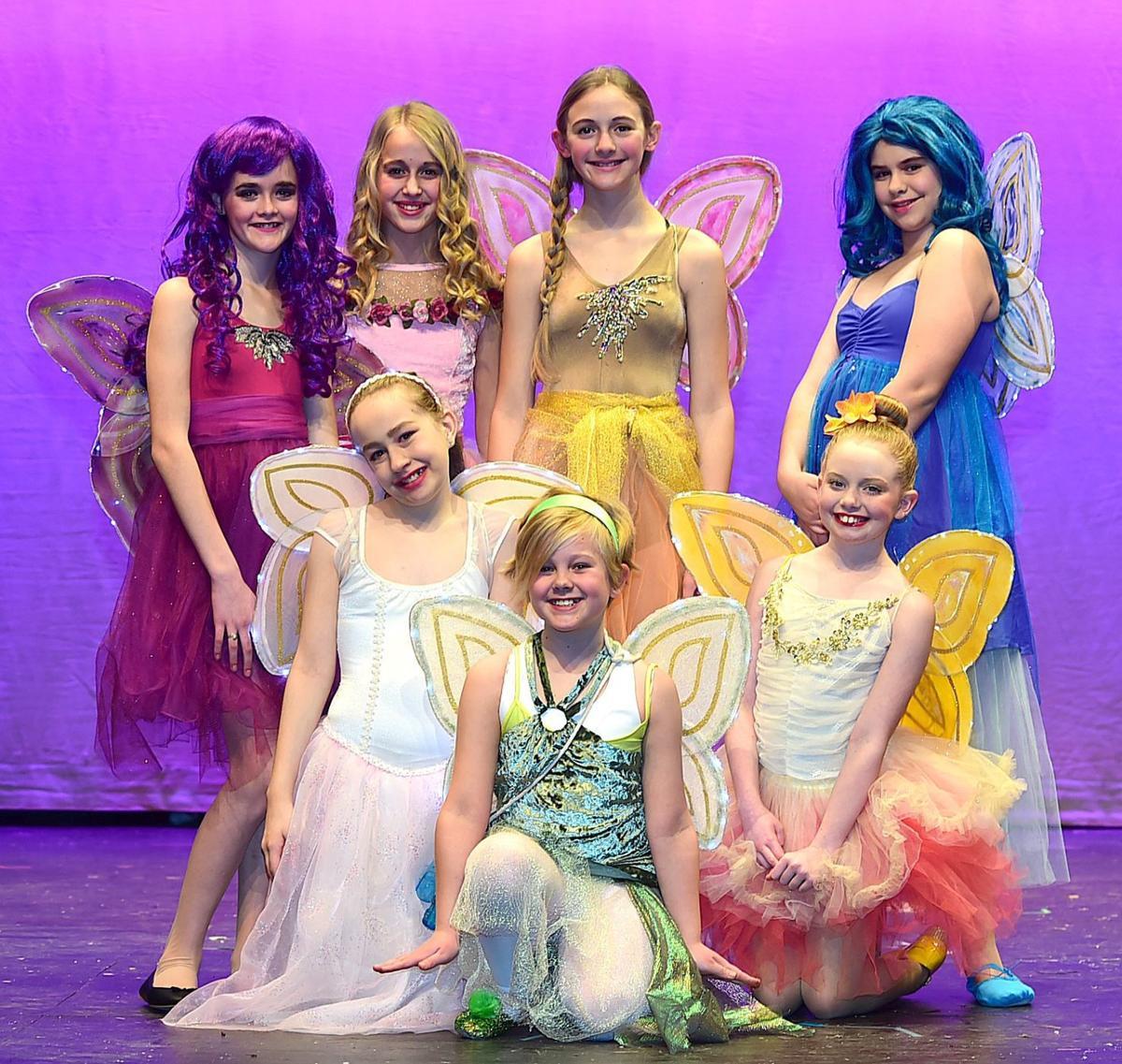 Peter Pan fairies